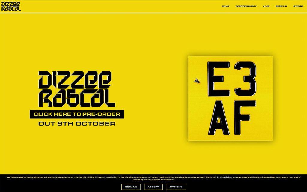 Dizzee Rascal Website