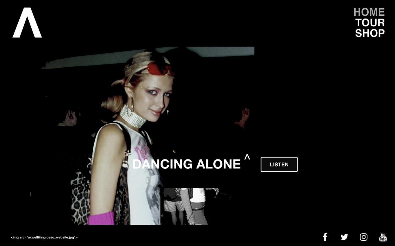 Axwell Ingrosso Website